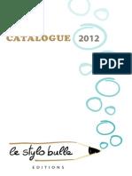 Stylobulle Catalogue Web