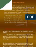 Clases de Derecho Judicial II