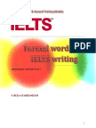 Formal Words for IELTS Writing