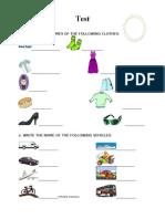 Testclothes Vehicles