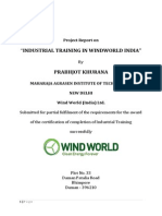 Project Report on Windworld