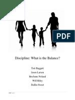 discipline portfolio