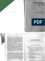 45711453 Psicopatologia Del Nino Marcelli Ajuriaguerra