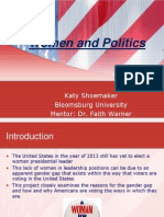 women and politics final presentationnew