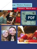 Winter 2014 Programs for Adults, Kids, & Teens
