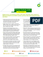 Energy Outlook 2030 Fact Sheet