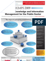 Knowledge & Information Management for the Public Sector