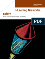 Storing and Selling Fireworks Safely