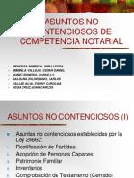 Grupo 2 Conpetencia Notarial de Asuntos No Contenciosos