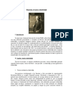 Einstein Si Teoria Relativitatii