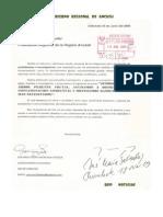 Cartas Gobiernos