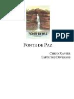 Chico Xavier - Livro 291 - Ano 1987 - Fonte de Paz