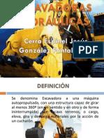 PRESENTACIÓN EXCAVADORAS HIDRÁULICAS