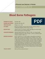 Blood Borne Pathogens Policy