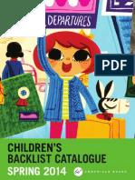 Chronicle Books UK Spring 2014 Kids Backlist Catalog