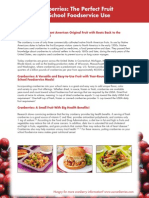 US Cranberries School Lunch Toolkit and Recipes