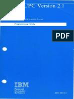 APL 2.1 IBM