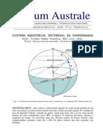 Sistema Equatorial Universal de Coordenadas