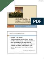 HeritageTourism&MuseumManagement