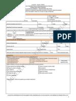 Formulario Unico Discapacidad Multiple 2010 Copy