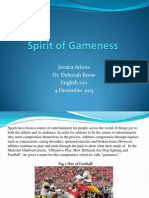 Spirit of Gamness Final