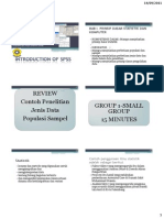Introduction of Spss 1 2 3 2011 Small