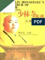 XIAOHONG YELLOW-少林寺拳谱—小洪拳—释永信主编-Shaolin boxing spectrum - small Fist - Shi Yongxin