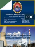 Exposicion Costos de Las Empresas de Generacion Electrica a Gas (2)