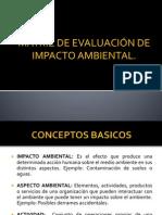 Clase de Mariz de Evaluacion de Impacto