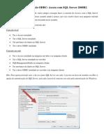 Tutorial Conexão Access com SQL Server 2008R2