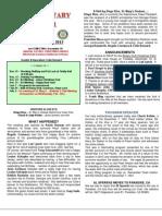 Moaga Rotary Newsletter- Dec 3, 2013