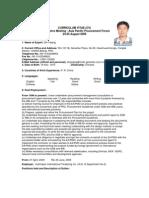 CV China-Shi Yeqing