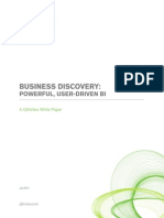 Business Discovery- Powerful, User-Driven BI - White Paper A4