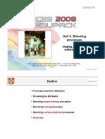 Aula 6 - Selecting Processes