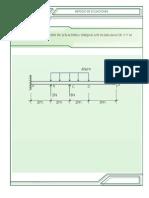 Diagrama de cortante y momento por el metodo de ecuaciones