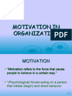 Motivation in Organization 2