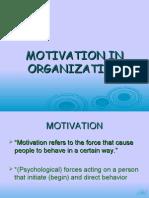 Motivation in Organization 2