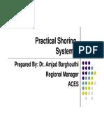 Practical Shoring Systems Presentation