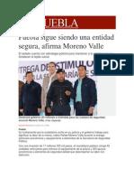 03-12-2013 Milenio.com - Puebla Sigue Siendo Una Entidad Segura, Afirma Moreno Valle