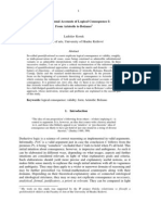 Quantificational Accounts I