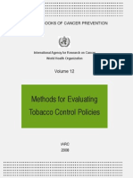 IARC_2008_Methods for Evaluating Tobacco Control Policies
