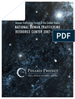 Cover and Executive Summary, Human Trafficking Trends in the US 11-21-13