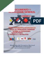 Resoluciones XXX Congreso PCU PDF