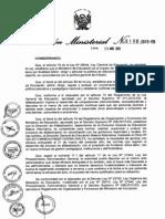 r.m. 0198 2013 Ed Alfabetizacion