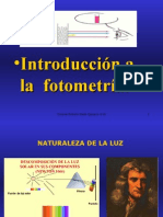 Introduccion a la fotometría