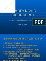 Hemodynamic Disorders i