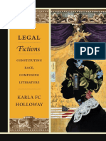 Legal Fictions by Karla FC Holloway