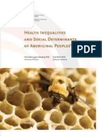 Health Inequalities and Social Determinants of Aboriginal Peoples' Health