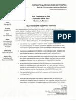 IAAF Cont. Cup Team Americas Selection Criteria (1)
