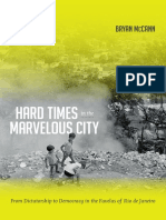 Hard Times in the Marvelous City by Bryan McCann